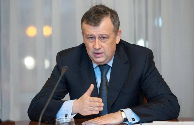 Александр Дрозденко - губернатор Ленинградской области