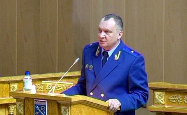 прокурор Ленинградской области Борис Марков