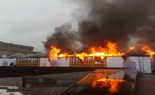 пожар на Московской площади