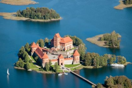 Литва Тракайский замок