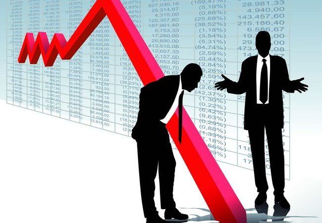 падение бизнеса