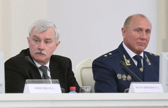 Георгий Полтавченко и Сергей Литвиненко