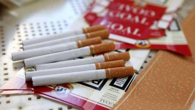 поддельные сигареты